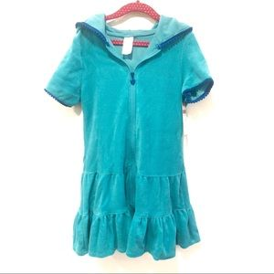 Cat & Jack Terry Cloth Swim Cover Up, Size M (7-8)